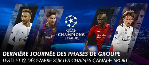 Ligue des Champions de l'UEFA - Dernières journées des phases de groupes
